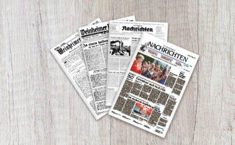 Geschenkzeitung